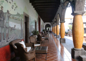 Pasillos - Hotel Hacienda La Venta