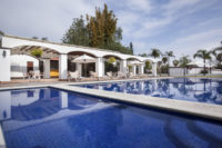 Heated swimming pool - Hotel Hacienda La Venta