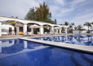 Alberca climatizada - Hotel Hacienda La Venta