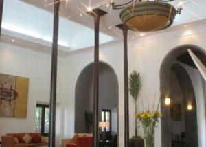 Recepción - Hotel Hacienda La Venta