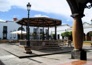 Patios y jardines - Hotel Hacienda La Venta
