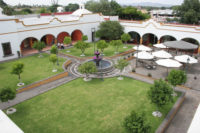 Courtyards and gardens - Hotel Hacienda La Venta