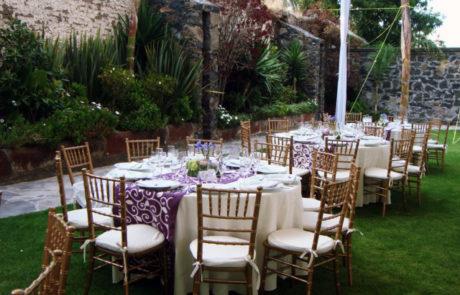Event assembly - Hotel Hacienda La Venta