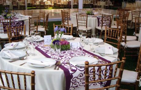 Montaje para evento - Hotel Hacienda La Venta