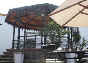 Terraza Bar - Hotel Hacienda La Venta